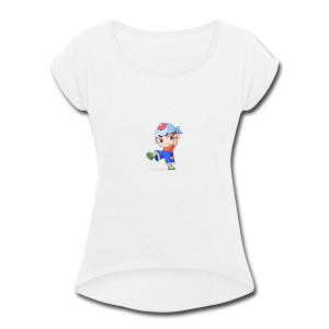 Yay! - Women's Roll Cuff T-Shirt