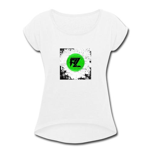 EXPERIENCE THE BASS - Women's Roll Cuff T-Shirt