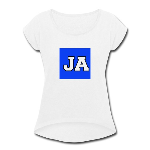 JoshuaAdamsMerchandise - Women's Roll Cuff T-Shirt