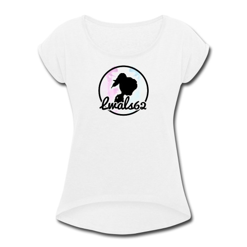 Lwals62 symbol - Women's Roll Cuff T-Shirt