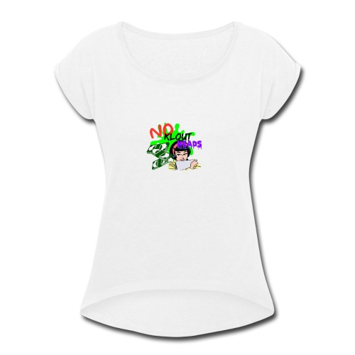 Noklouthead T-shirt - Women's Roll Cuff T-Shirt