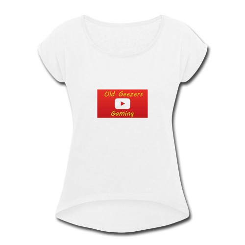 Old Geezers Gaming - Women's Roll Cuff T-Shirt