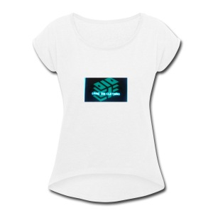 Grind Big Clothing - Women's Roll Cuff T-Shirt