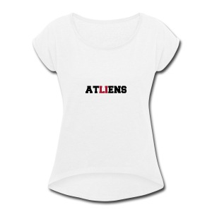 ATLIENS - Women's Roll Cuff T-Shirt