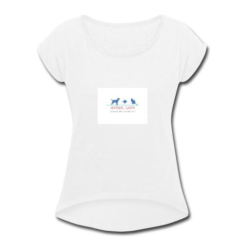ANIMAL - Women's Roll Cuff T-Shirt