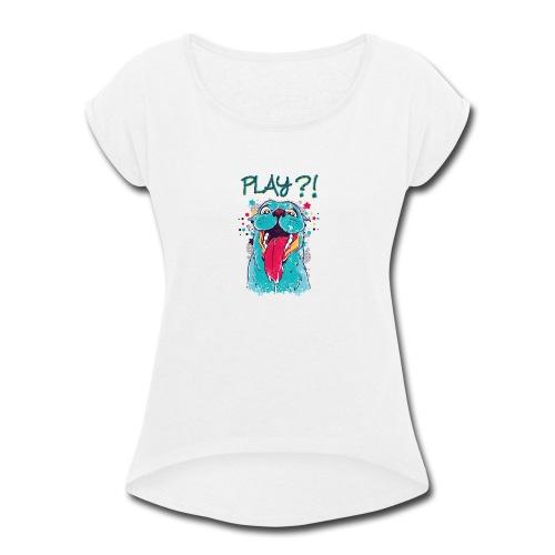 634 01 - Women's Roll Cuff T-Shirt