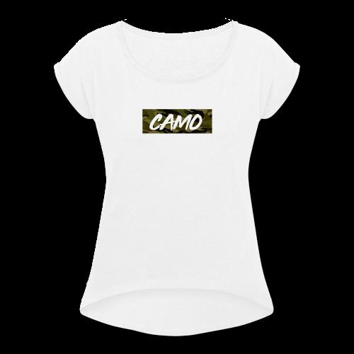 Camo Collection - Women's Roll Cuff T-Shirt