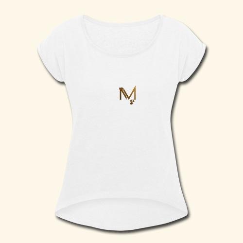 Melanin Mayhem - Women's Roll Cuff T-Shirt
