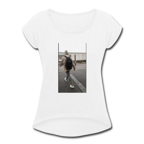 hoodie walker - Women's Roll Cuff T-Shirt