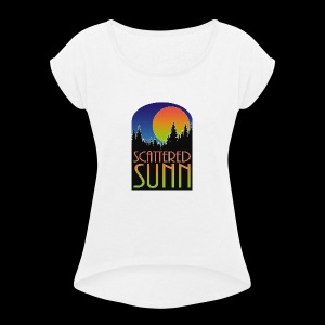 SUNN color - Women's Roll Cuff T-Shirt