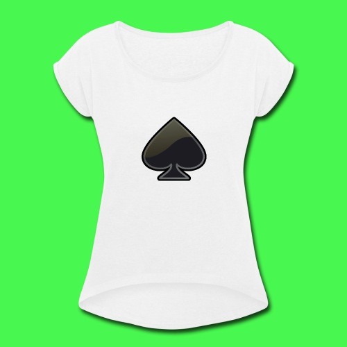 spade-304399_640 - Women's Roll Cuff T-Shirt