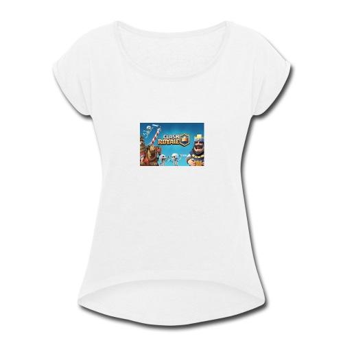 clash-royale - Women's Roll Cuff T-Shirt