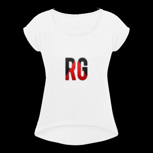 T-shirt big - Women's Roll Cuff T-Shirt