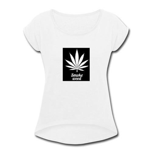 20171107 203904 - Women's Roll Cuff T-Shirt