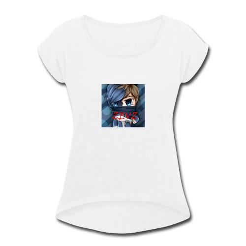 YOUMAMA - Women's Roll Cuff T-Shirt