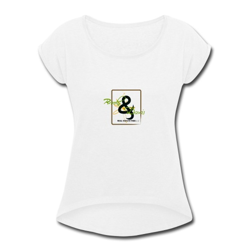Brooks and Davis - Women's Roll Cuff T-Shirt