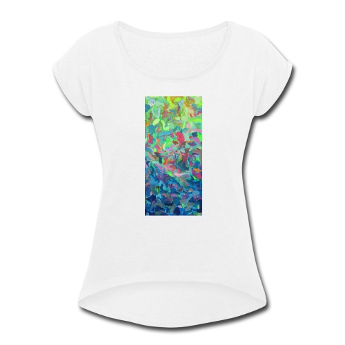 Day to Night - Women's Roll Cuff T-Shirt