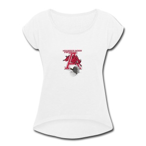 HAMMER DOWN - Women's Roll Cuff T-Shirt