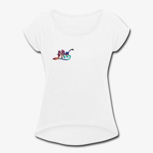 HW Galaxy edition - Women's Roll Cuff T-Shirt
