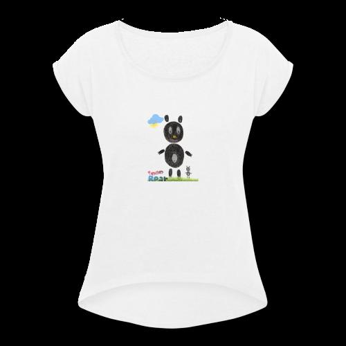 Tono bear - Women's Roll Cuff T-Shirt