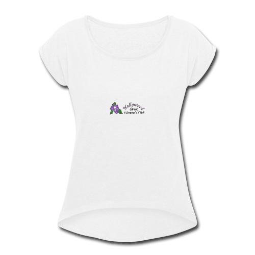 HWC Logo Full - Women's Roll Cuff T-Shirt
