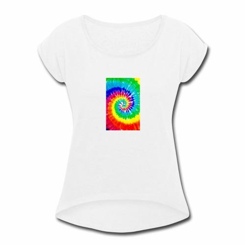 Rs - Women's Roll Cuff T-Shirt