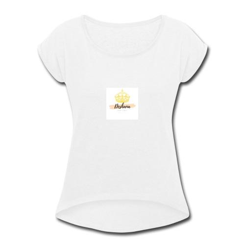 Deshana - Women's Roll Cuff T-Shirt