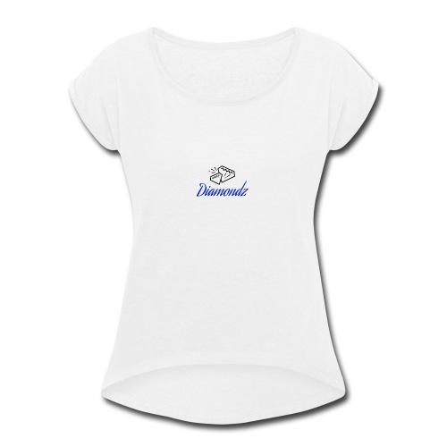Diamondz - Women's Roll Cuff T-Shirt