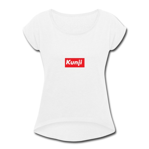 Kunji - Women's Roll Cuff T-Shirt