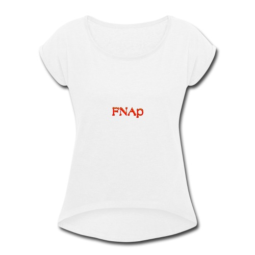 cooltext222929797911731 - Women's Roll Cuff T-Shirt