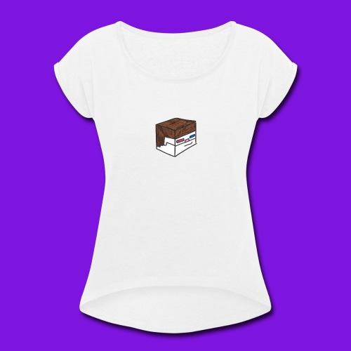 Yakmage Head T-Shirt - Women's Roll Cuff T-Shirt