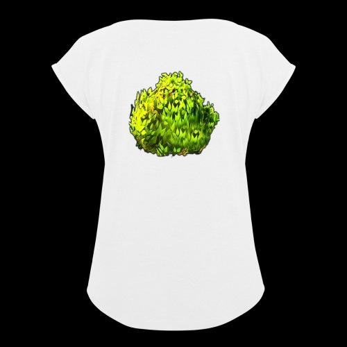 Bush Logo - Women's Roll Cuff T-Shirt