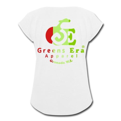 Greens Era Official Apparel - Women's Roll Cuff T-Shirt