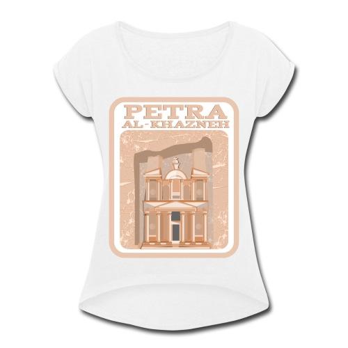 Petra - Women's Roll Cuff T-Shirt