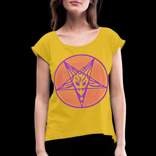 Electric Hellfire Club PB - Women's Roll Cuff T-Shirt