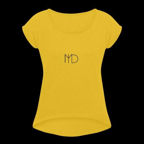 MLD Logo Classique - Women's Roll Cuff T-Shirt