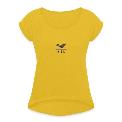 MTL Shirts First Edition - Women's Roll Cuff T-Shirt