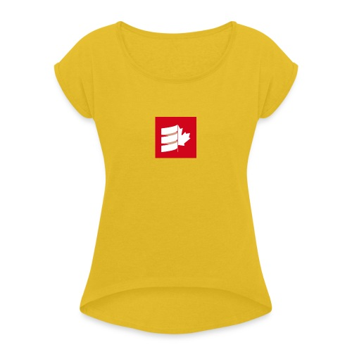 Scala Up North - Women's Roll Cuff T-Shirt