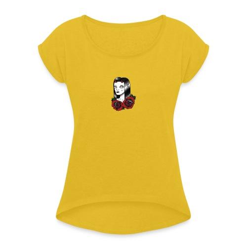 Devil Women - Women's Roll Cuff T-Shirt