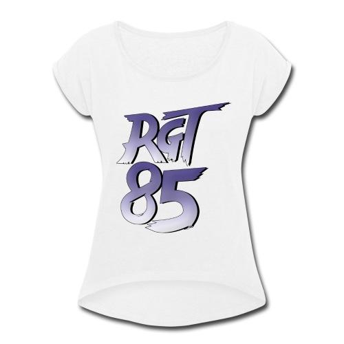 RGT 85 Logo - Women's Roll Cuff T-Shirt