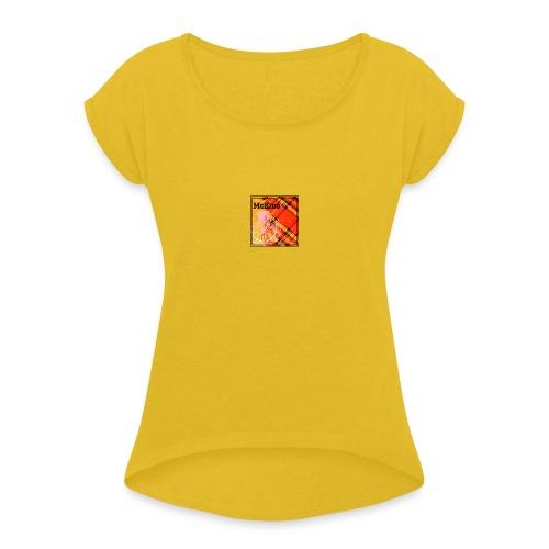 mckidd name - Women's Roll Cuff T-Shirt