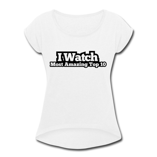 @clouted - Women's Roll Cuff T-Shirt