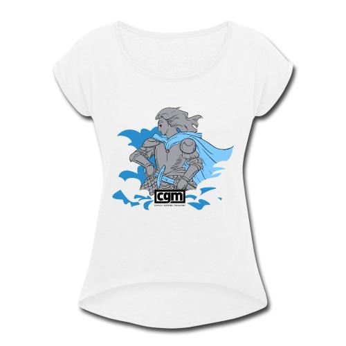 CGM Paladin of Light Women's Top - Women's Roll Cuff T-Shirt