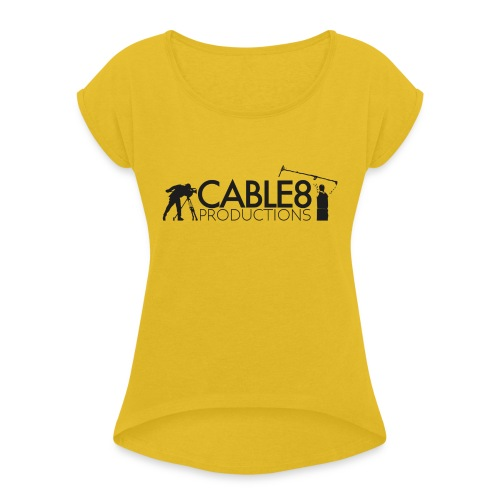 On Set - Women's Roll Cuff T-Shirt