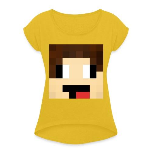 miloderpface - Women's Roll Cuff T-Shirt