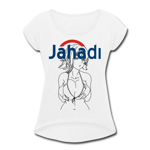 hadiCITY - Women's Roll Cuff T-Shirt