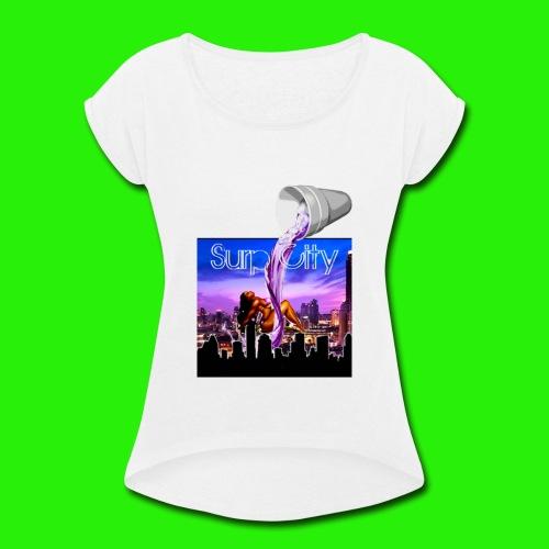 Surp City - Women's Roll Cuff T-Shirt