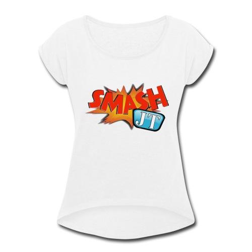 Smash JT Classic Logo - Women's Roll Cuff T-Shirt