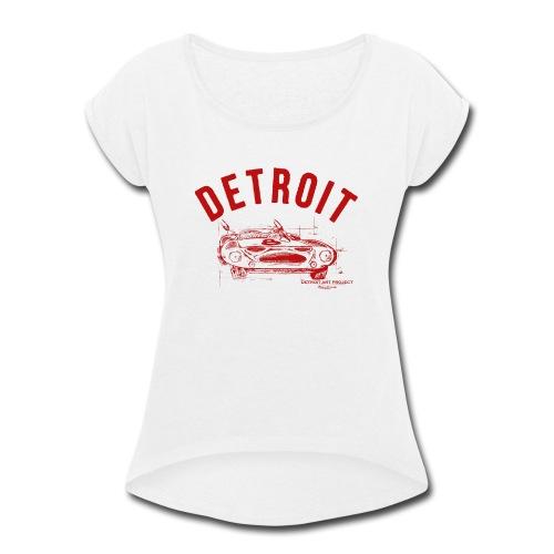 Detroit Art Project - Women's Roll Cuff T-Shirt