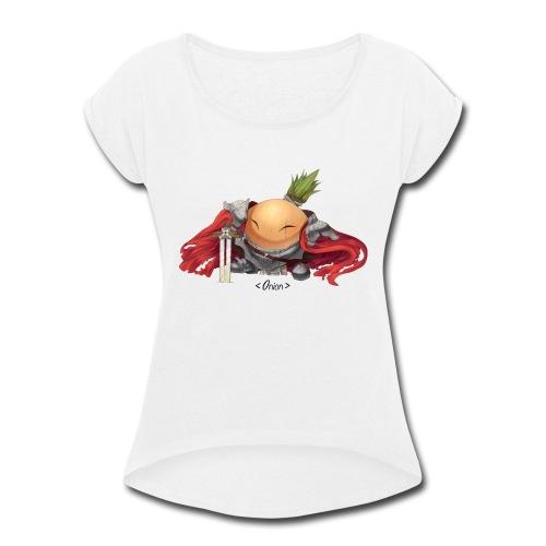 Onion Knights - Women's Pink - Women's Roll Cuff T-Shirt